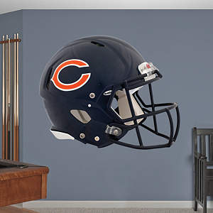 Chicago Bears Helmet Fathead Wall Decal